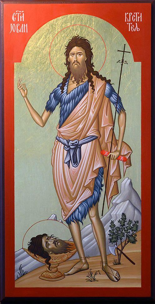 St. John de Baptist Orthodox Icons 04 on Behance