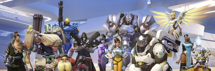 Overwatch Characters (In-game)