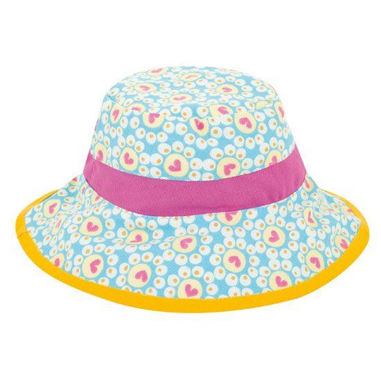Flower blue - fully reversible French hat.  www.spiritedmama.com