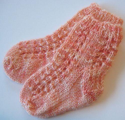 baby eyelet socks