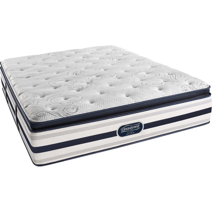 Simmons Beautyrest BeautyRest Recharge Soulmate Luxury Firm Pillow Top Mattress