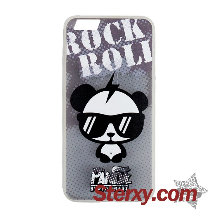 Stylish iPhone case to decorate and protect your handset! This translucent case featuring a cartoon rock&roll panda wearing sunglasses is extremely cool. Check the link below for more cases. Buy now! http://www.sterxy.com/category/Iphone-Cases/157.html