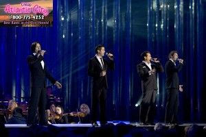 The super talented vocal group Il Divo performs at Revel on May 17, 2014.