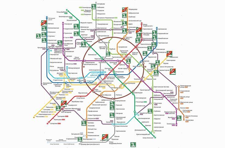 Список юридический адресов от собственников по карте метрополитена Москвы для вашего удобства.