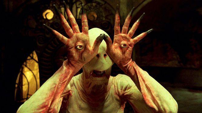 El laberinto del fauno - <p>En esta película de Guillermo del Toro aparece un ser abominable y paliducho, que puede ver con las manos y su aspecto es de lo más infernal que uno podría imaginar. Uno de los mejores monstruos de la historia, sin lugar a dudas.</p>