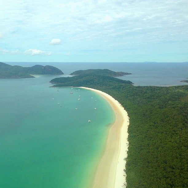 # 5 - Whitehaven Beach in Whitsunday Island, QLD