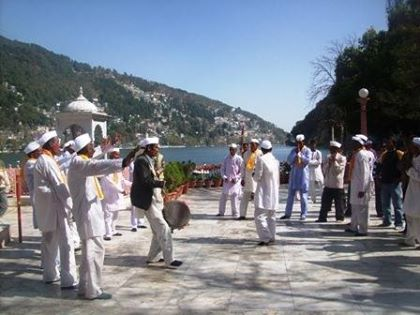 #Bhimtal Guide: #This holi season, don't miss the chance of seeing #Kumaoni Holi. smile emoticon It lasts for almost 1 month.