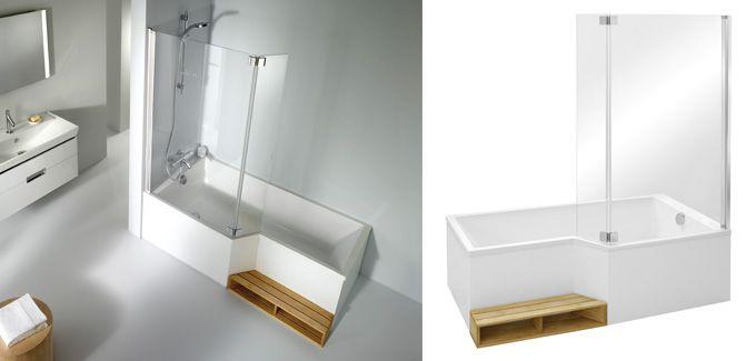 SdE Atelier Baignoire bain-douche NEO de Jacob Delafon