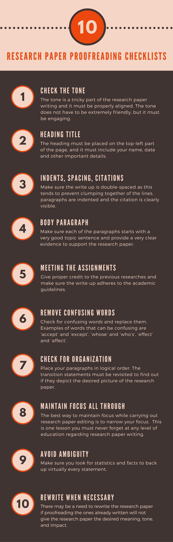 best proofreading checklists images teaching the importance of proofreading your academic research paper and essay can never be overemphasized our top 10 research paper proofreading checklists
