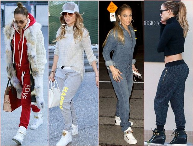 Os Looks Da Jennifer Lopez No American Idol