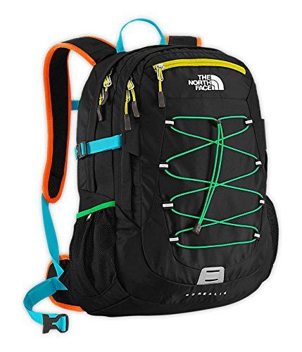 The North Face Borealis Backpack - Men's, TURQUOISE BLUE / PEEL ORANGE The North Face
