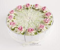 Моих рук дело: Бумажный торт
