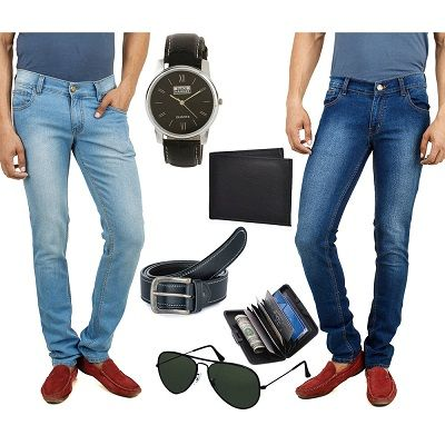 Infibeam is offering Stylox Pack Of 2 Slim Fit Lycra Jeans With Mens Accessories Combo, 30 @ Rs 879 How to catch the offer: Click here for offer page Add Stylox Pack Of 2 Slim Fit Lycra Jeans With Mens Accessories Combo, 30 in your cart Login or Register Apply offer codeSPRING20 Fill the shipping …