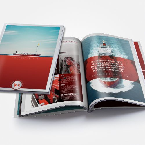 Cargo Fleet Company Profile design by SIGNIFICAN significan-design.com