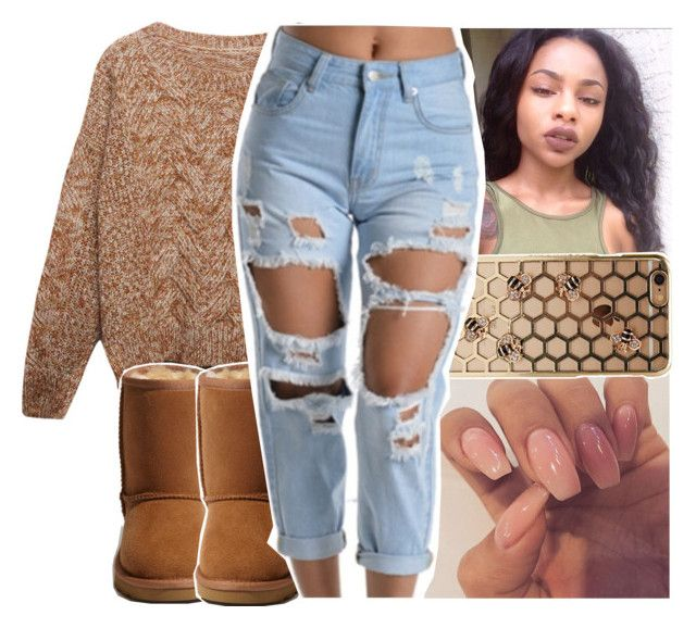 """""""hey(say it back)"""" by daeethakidd ❤ liked on Polyvore featuring Relaxfeel and UGG Australia"""
