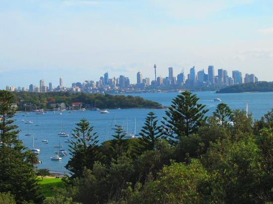 Watson's Bay: The view of Sydney's city skyline from Watsons Bay. #Sydney #Australia