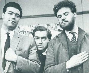 Alan Simpson, Tony Hancock, Ray Galton