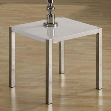 Buy Seconique Charisma High Gloss Lamp Table in White from Furniture123 - the UK's leading online furniture and bed store