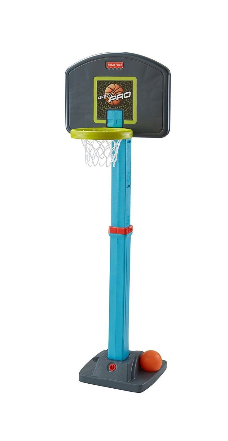 Fisher-Price Grow to Pro Basketball Hoop $22  Free Shipping w/ Prime or FSSS (Amazon Lightning Deal) #LavaHot http://www.lavahotdeals.com/us/cheap/fisher-price-grow-pro-basketball-hoop-22-free/137596