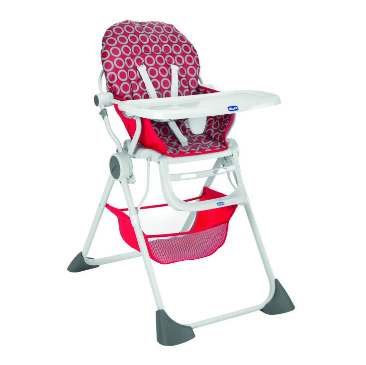 Chaise haute Pocket Lunch de Chicco.