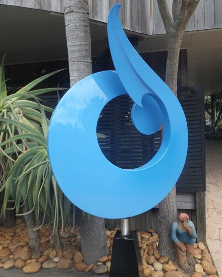 New Zealand Sculpture - Pacific Twist