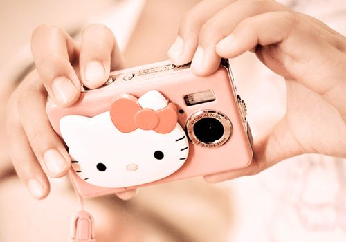 : Picture, Kitty Obsession, Kitty Camera, Hellokitty, Things, Hello Kitty, Products, Electronic, Cameras