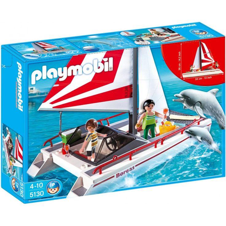 Playmobil Καταμαράν και δελφίνια 5130