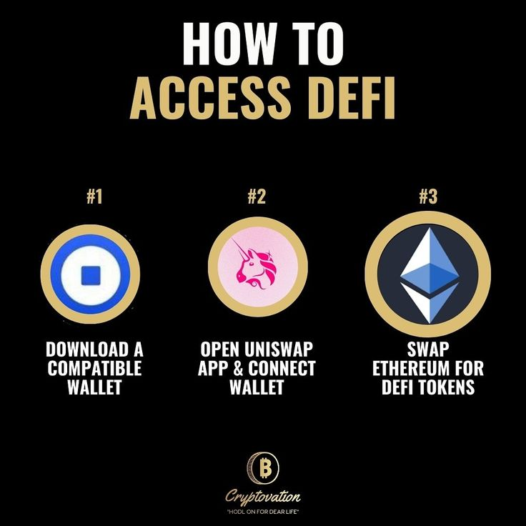 How To Access Defi Yield Farming Blockchain Cryptocurrency Infographic