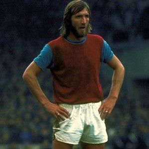 LEGEND: Billy Bonds took over the West Ham captaincy permanently when Bobby Moore left to join Fulham in March 1974. Although the Hammers had struggled to find League form in 1973-74, it was Bonds who kept the club up with tenacious spirit and a vital 13 goals from midfield. He went on to lift the FA Cup twice, in 1975 and 1980, and made a record 663 League appearances for the club, scoring 48 goals. In January 1988 he was awarded an MBE and became West Ham manager from 1990 to 1994: