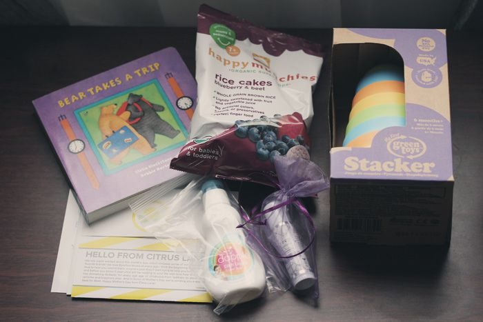 Holiday Gift Idea For Baby / #CitrusLane Subscription Box / Giveaway 12.18.13 Sophistishe.com #ad