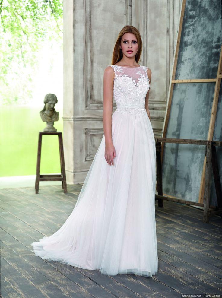 Le fameux décolleté illusion va vous faire craquer #mariage #mariée #robe #décolleté #illusion #tendance #fashion #craquage #weddingstyle #inspiration #mode #wedding #2018