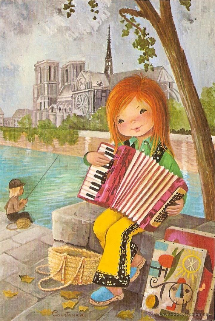 1682 best postales images on pinterest - Ilustraciones infantiles antiguas ...