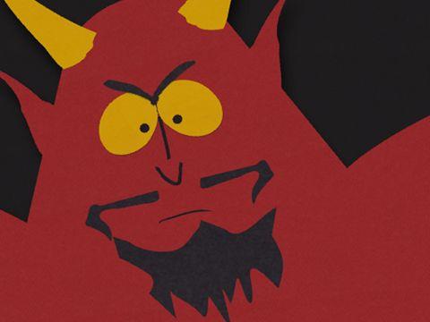 South Park's Satan!