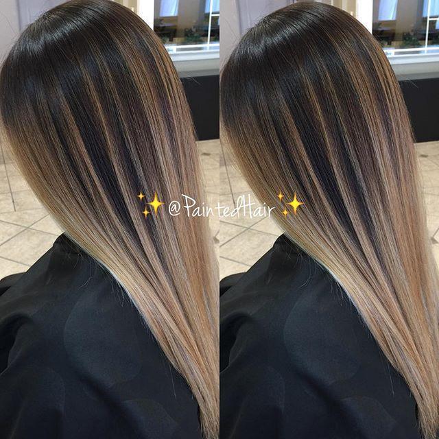 Balayage On Fine Straight Hair