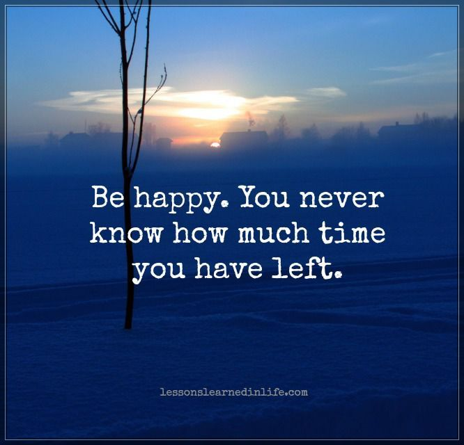 You never know how much.
