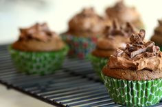 dairy milk chocolate cupcakes
