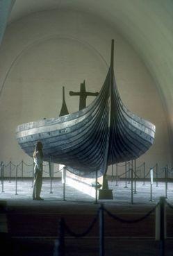 The Gokstad ship. Viking Ship Museum, Bygdoy, Norway.