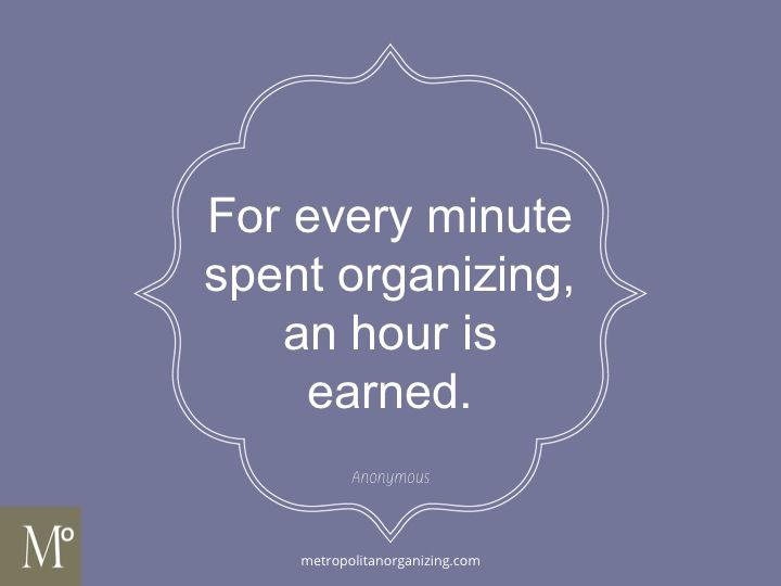 #1 - Spend Time Wisely #MetroZing | #Organizing | Geralin Thomas, Professional Organizer