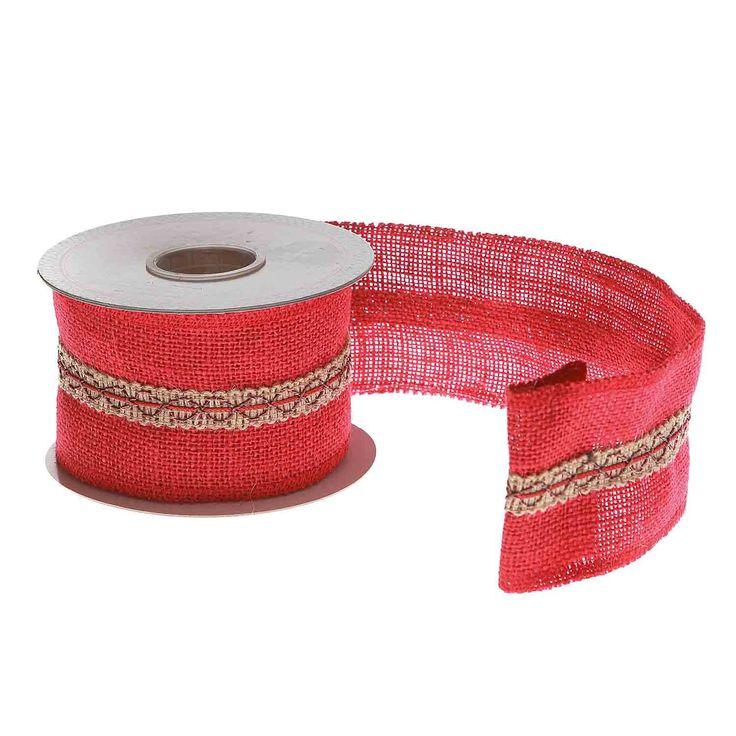 Декоративная лента  Текстиль  WD6.4 см / L5 м