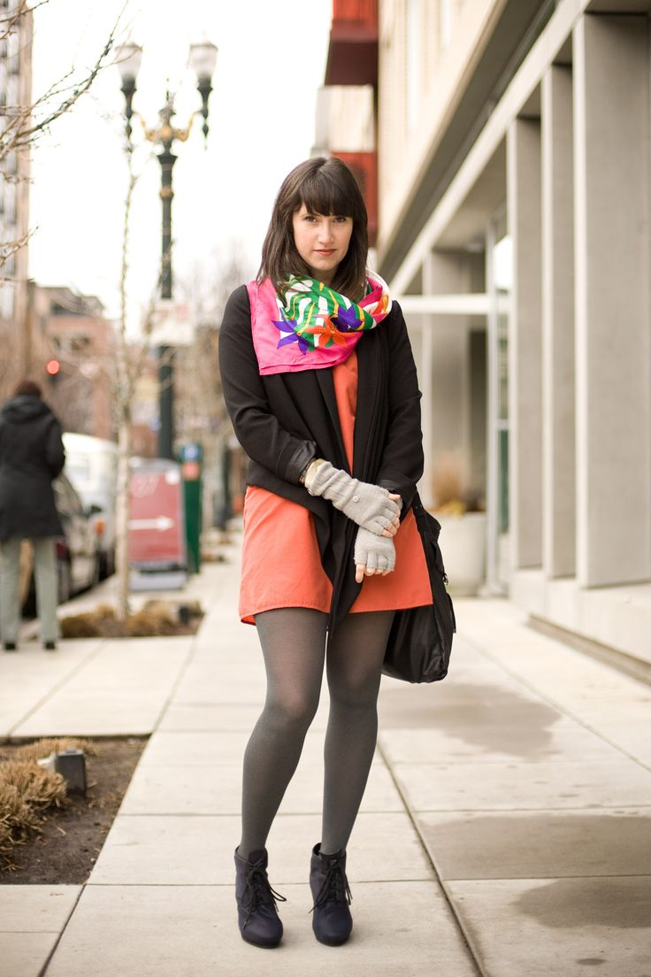 Urban Weeds: Street Style from Portland Oregon: Andee on NW Glisan, Portland Oregon