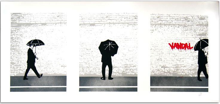 Nick Walker - Vandal Triptych Signed Print / Screenprint