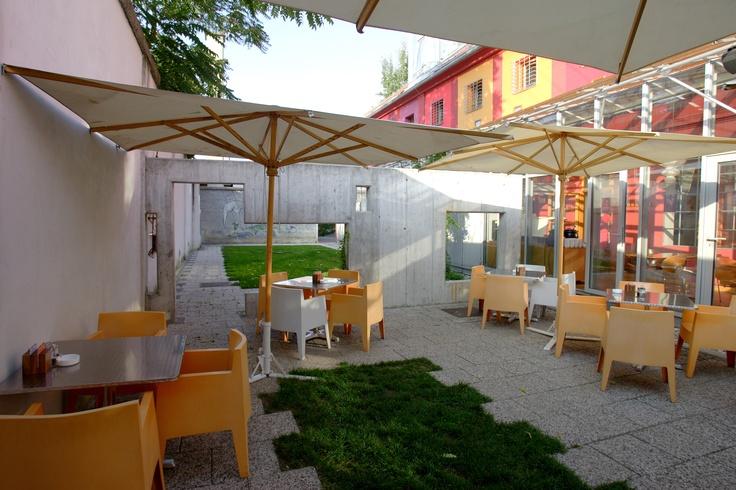 Celica garden area