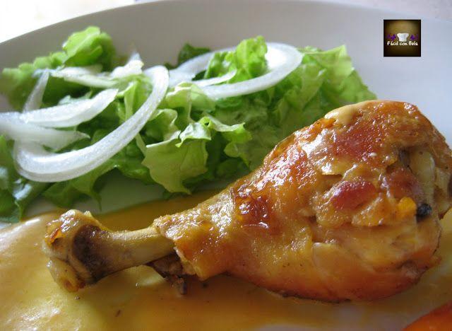 Pollo al Horno con Salsa