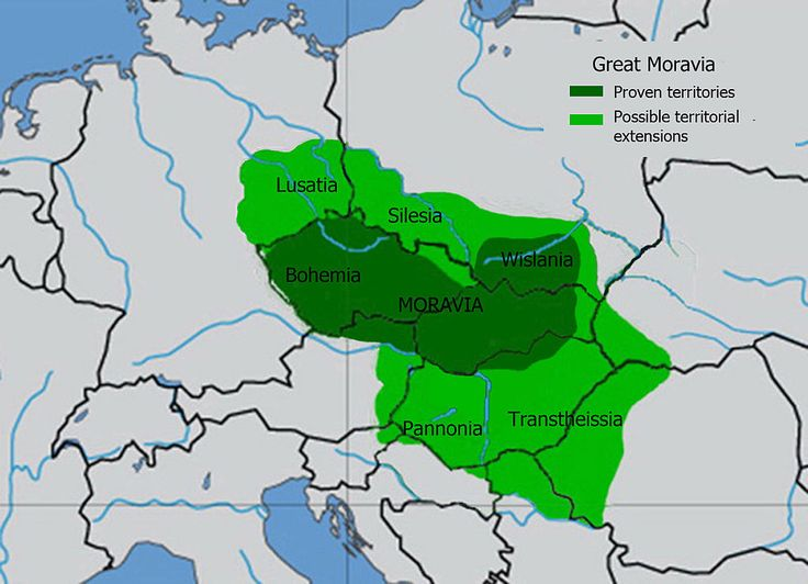 South Moravia is part of the historic area , which is indeed closely related to the Czech statehood , but always maintained a special position . Its territory was an important first state formation - Great Moravia . Even after the conquest of Moravia, Czech Prince Ulrich ( 1031 ) was respected their autonomy , which resulted eg . That there was established a separate Moravian Margraviate
