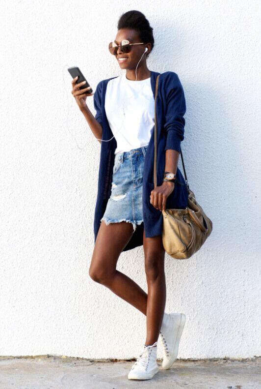 Jeansrock kombinieren: Ideen für dein Outfit