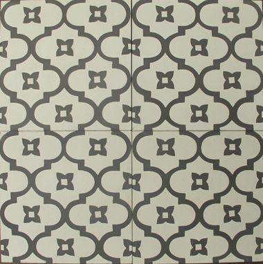 white moorish night reproduction tile from Jatana Interiors