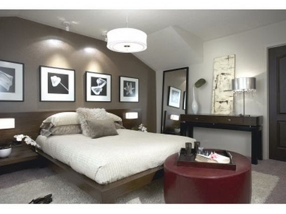 Bulit In Side Tables And Reading Lights...AWESOME! Candice Olsen U003c3