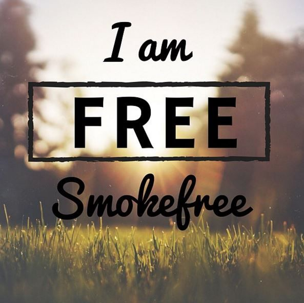 Whether it's one day or one year, be proud that you are smoke free! And don't forget to celebrate your milestones along the way!  How are you going to reward yourself?