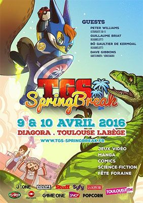 Toulouse accueille le TGS Springbreak - Jeux vidéo, cinéma et séries TV de science-fiction, mangas et culture japonaise... La culture geek sera comme toujours à l'honneur avec un programme complet de conférences, ateliers, projections, ...