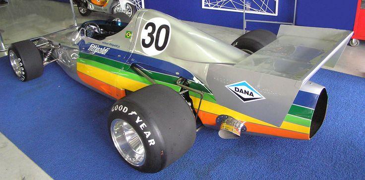 Photo de la Copersucar FD01 pilotée par Wilson Fittipaldi en 2007